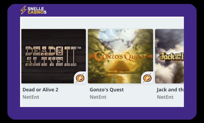 Speedy Casino Blitz Games