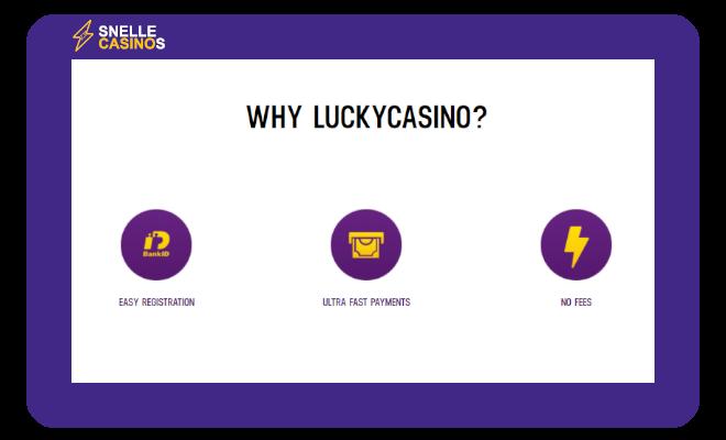 Waarom Lucky Casino