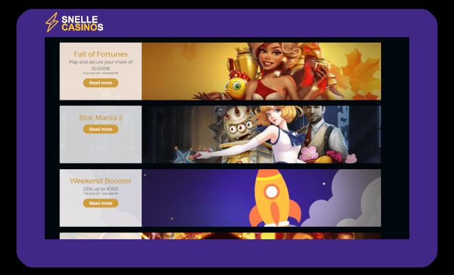 Premier Live Casino Promoties