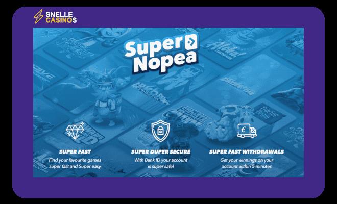 SuperNopea waarom spelen