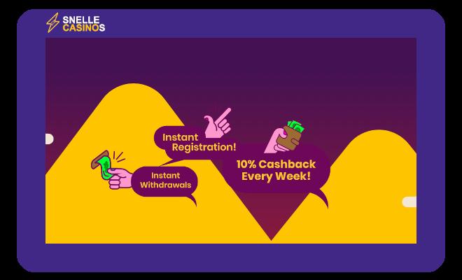 Mount Gold Casino voordelen