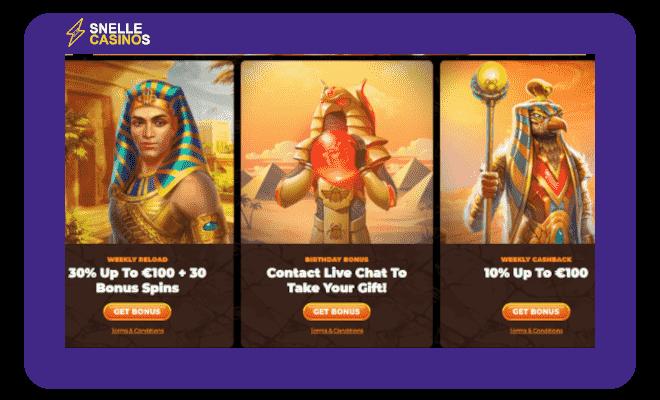 Amun Ra promoties