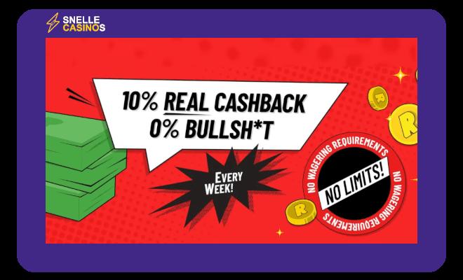 Refuel Casino cashback