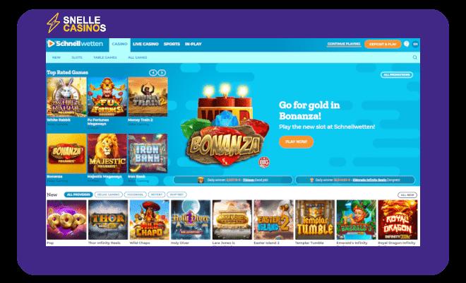 schnellwetten casino lobby