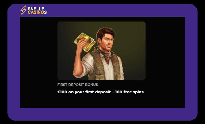 Casinobuck welcome bonus