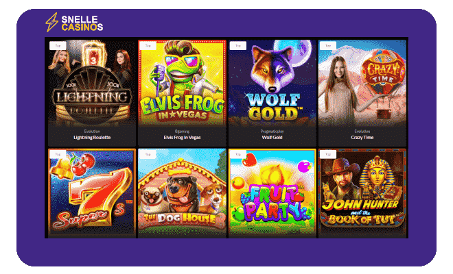 Premier casino snelle casino lobby