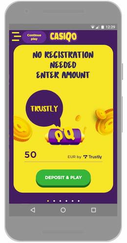 stap 1: Kies een snel casino