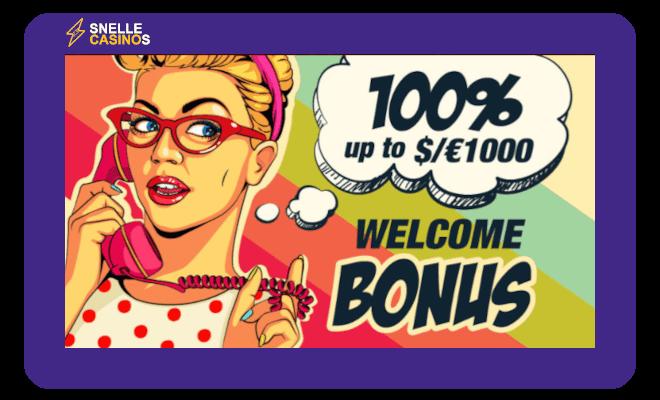 Rant Casino welkomstbonus